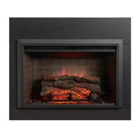GreatCo Electric Zero Clearance Fireplace Insert, 32""