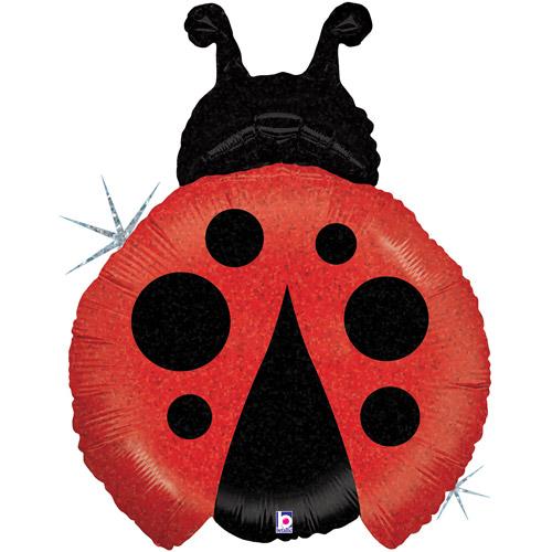 Little LadyBug Mylar Balloon