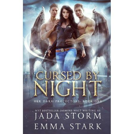 Her Dark Protectors: Cursed by Night: A Reverse Harem Urban Fantasy
