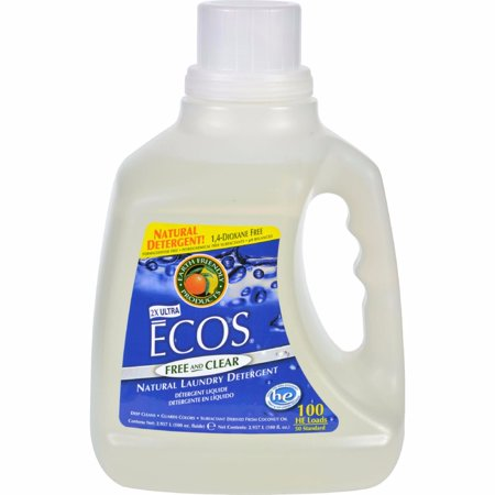 Earth Friendly Ecos Ultra 2x All Natural Laundry Detergent - Free And Clear - 100 Fl Oz Earth Friendly Products Ecos Laundry