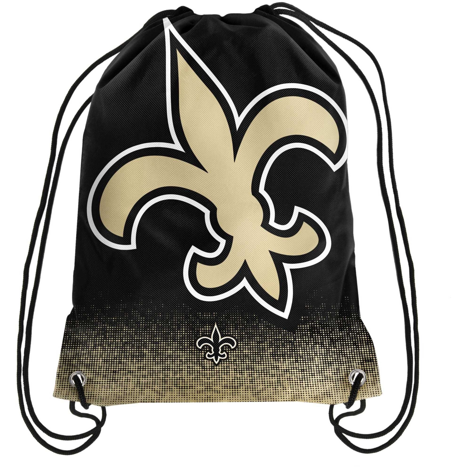 New Orleans Saints NFL Gradient Drawstring Backpack