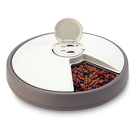 6 Day Automatic Pet Feeder Walmart Com