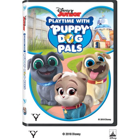 Puppy Dog Pals: Playtime with Puppy Dog Pals (DVD) (Squirrel Dog Movie)