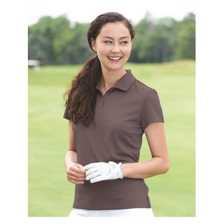 Adidas Sport Shirts Golf Women's ClimaLite® Textured Short Sleeve (Adidas Golf Shirt)