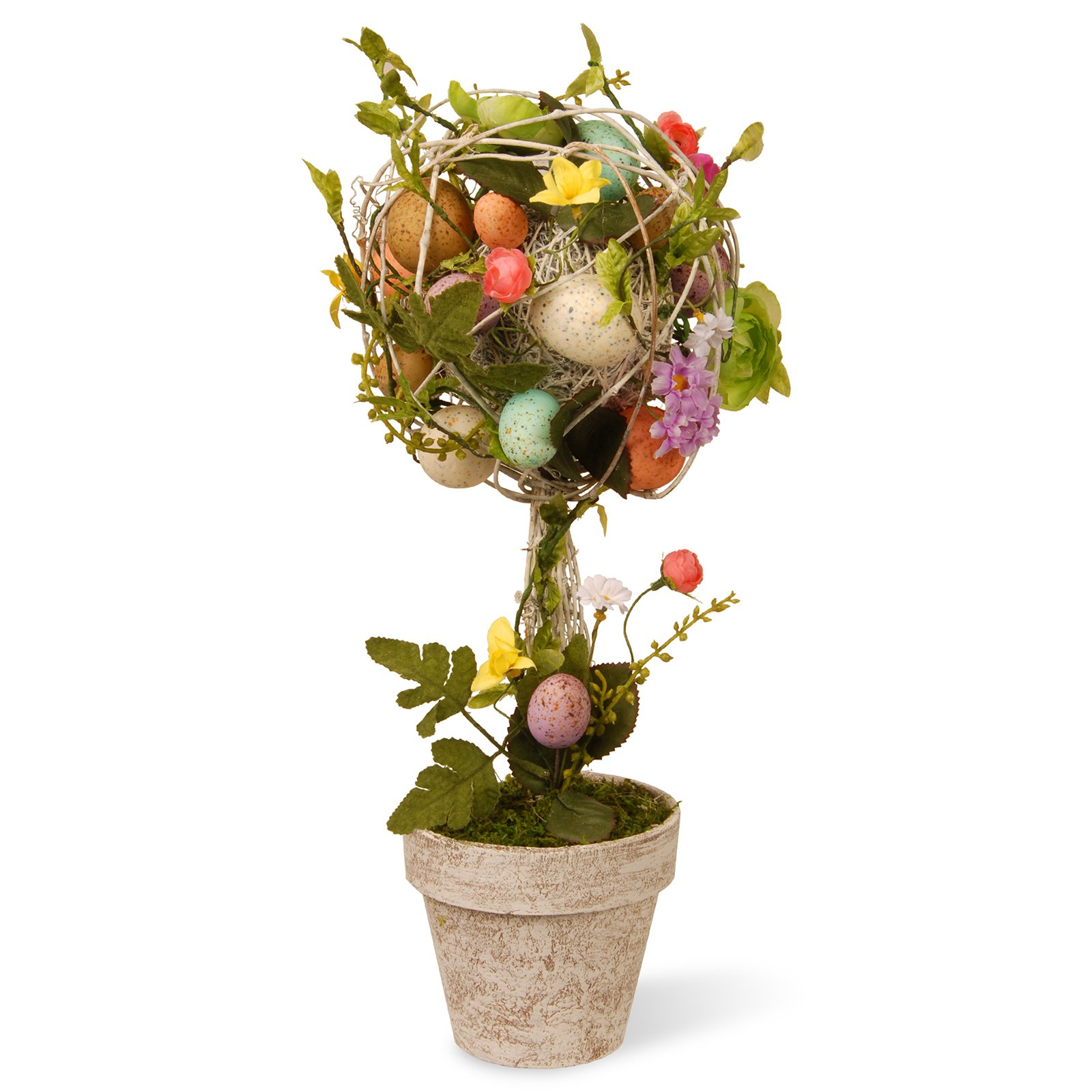 "17"" Garden Accents Easter Egg Topiary by National Tree"