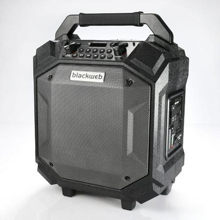 Blackweb Portable Bluetooth Party Speaker - Walmart com