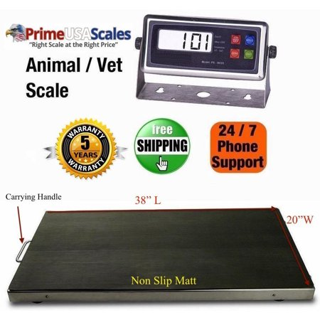 Animal Vet Scale (New 660 lb Vet Scale Animal Scale Livestock Scale Stainless Steel)