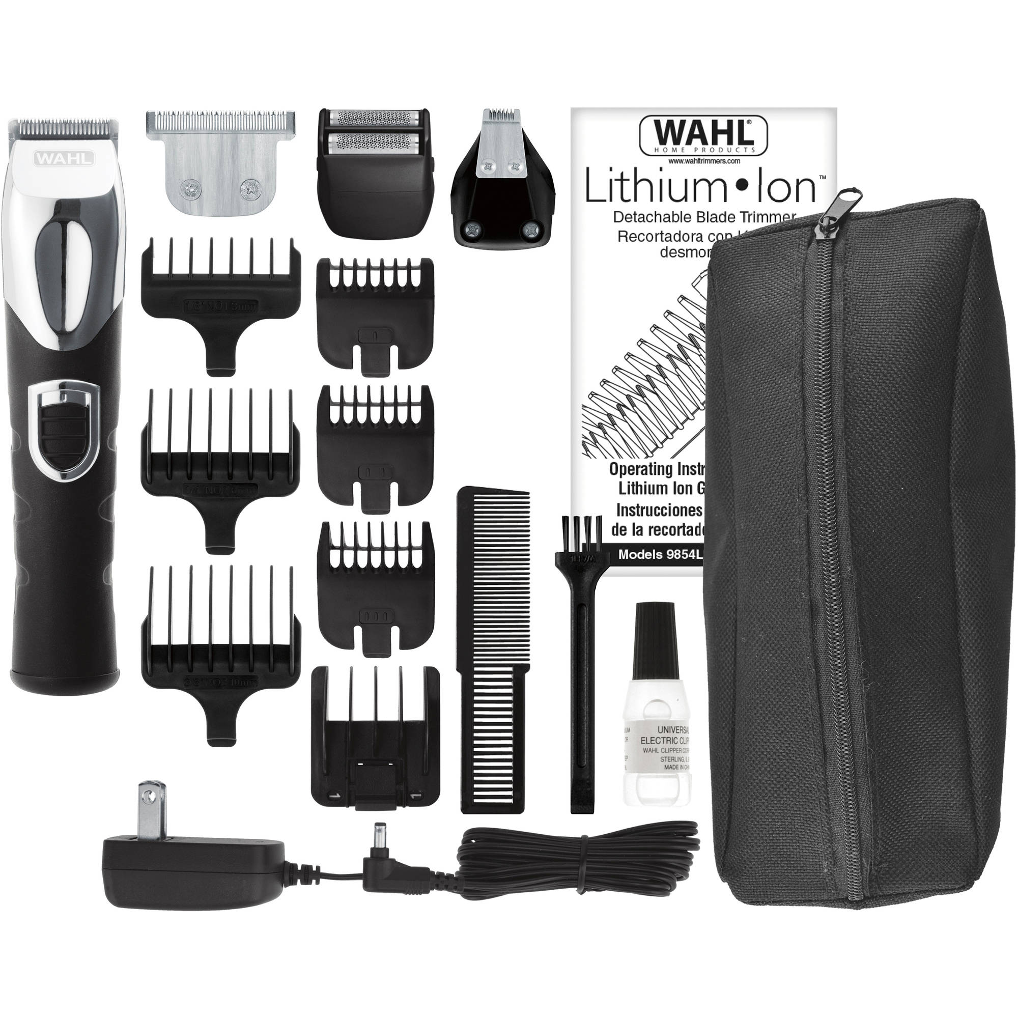 Wahl Clipper 17 Piece Lithium Ion All In One Trimmer 9854 600