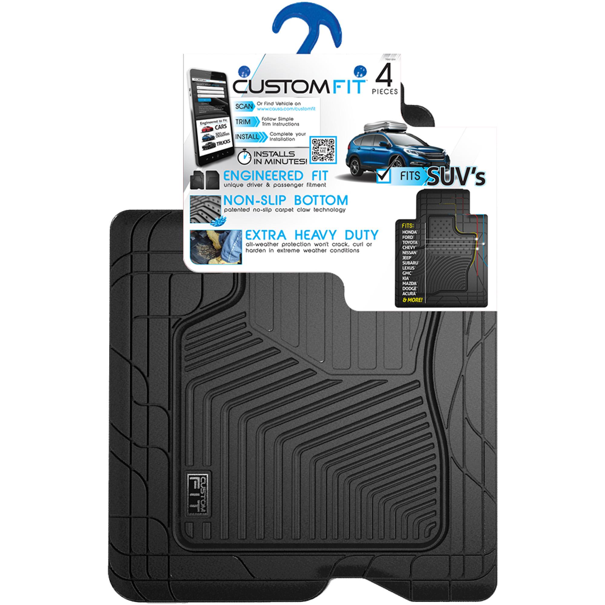 Custom Fit Car Mat 4PC PantsSaver 0426152 Gray