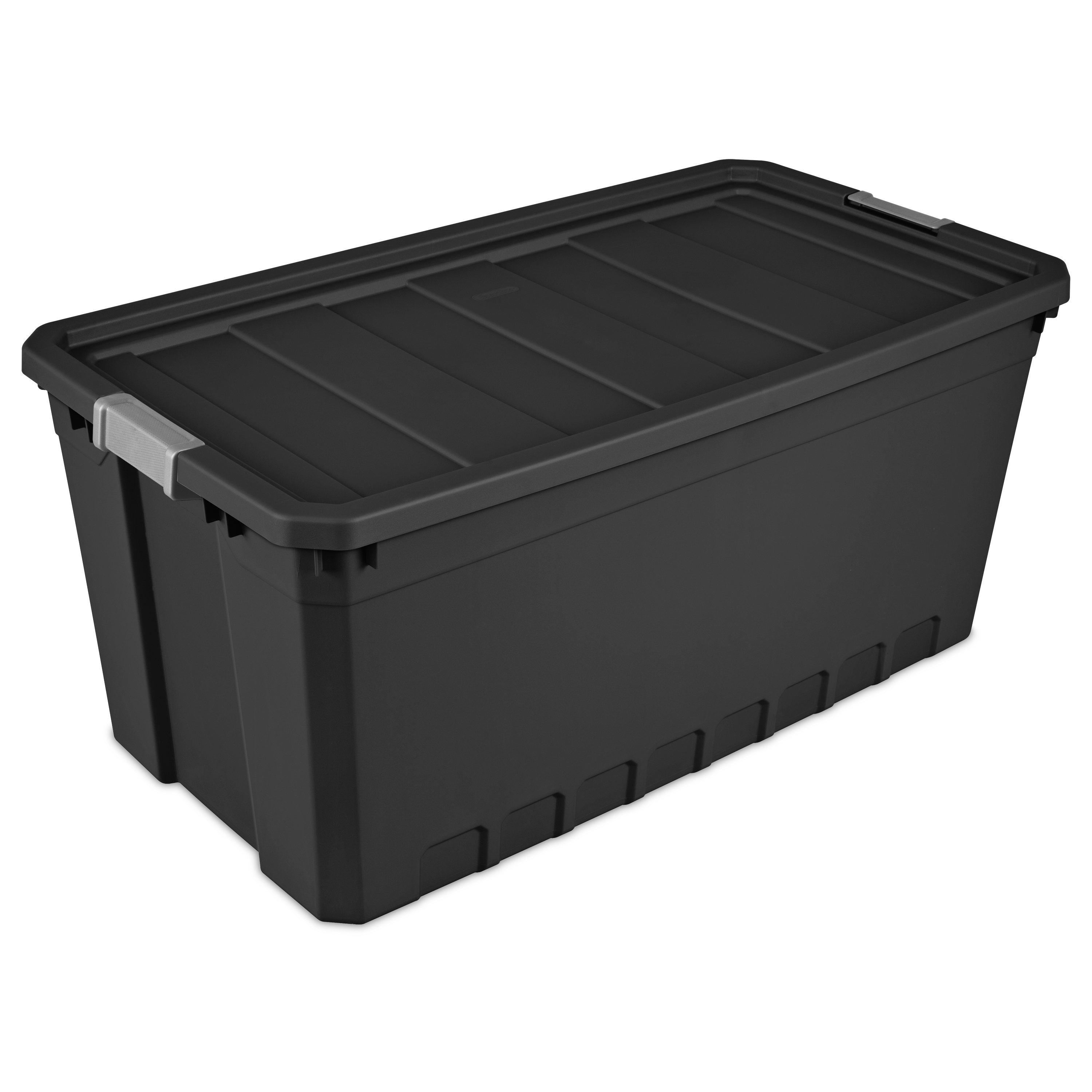 Sterilite, 50 Gal./189 L Stacker Bin, Black (Available in a Case of 3 or Single Unit)