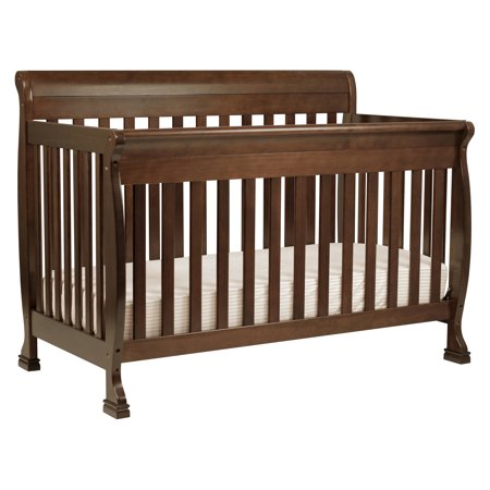 DaVinci Kalani 4-in-1 Convertible Crib in Espresso (Baby Crib Da Vinci Furniture)
