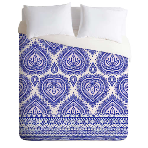 Deny Designs Decorative Blue Bedding Aimee St Hill Duvet Cover