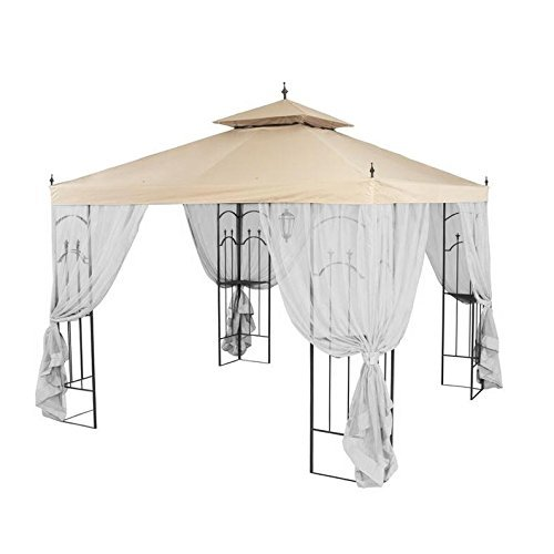 Garden Winds Replacement Canopy Top for Home Depot's Arrow Gazebo with Rip Lock Technology