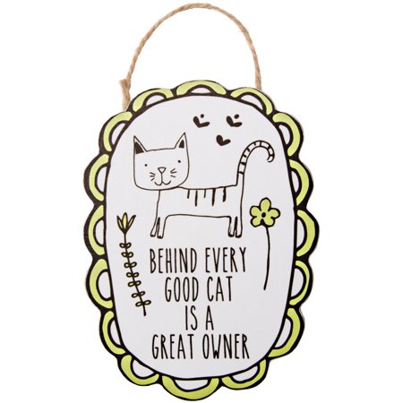 Pavilion - Behind Every Good Cat is a Great Owner - Magnetic Ornament