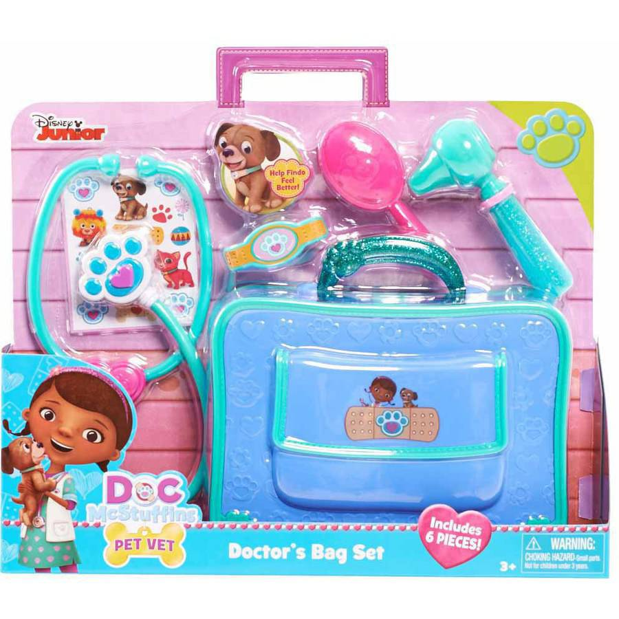 Doc Mcstuffins Pet Vet Doctoru0027s Bag Set
