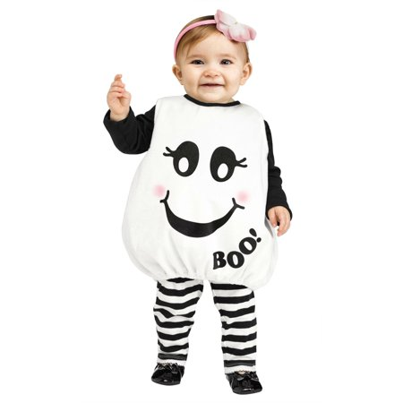 Ghost Costumes For Toddlers (Baby Boo Infant Ghost Costume  12-24)