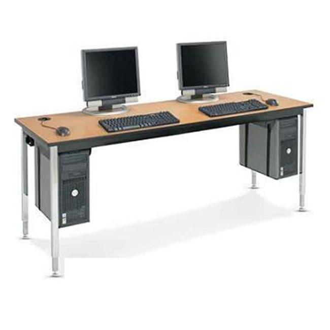 Smith Carrel 01552C GNB HPL Computer Table Fixed Height