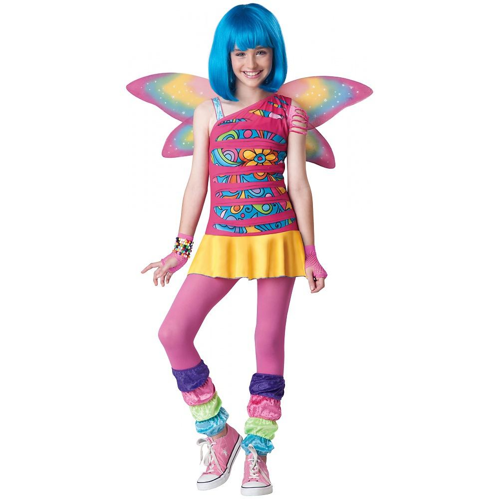 Rainbow Fairy Costume Tween Large