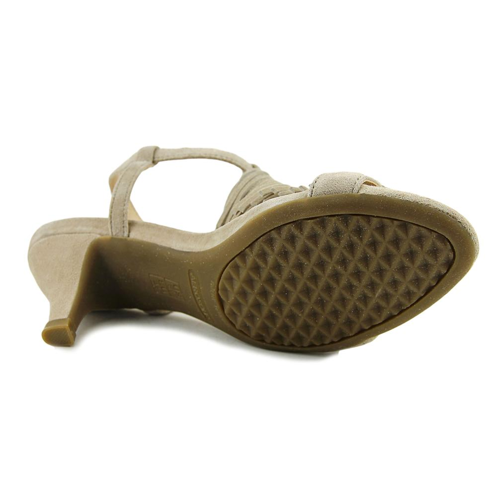Aerosoles Charade Women  Open Toe Suede Ivory Sandals