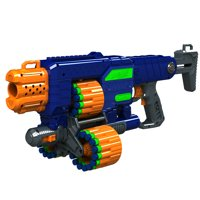 Adventure Force Savage Spin Motorized Triple Drum Dart Blaster