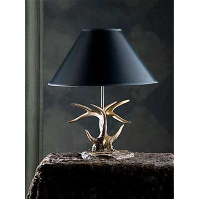Hughes Collection HP-66902 Rocky Antler Table Lamp