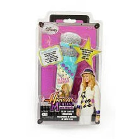 - Hannah Montana The Movie: Rockin' Concert Microphone - Plays