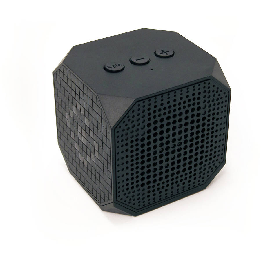 MQbix MUSICUBE Wireless Portable Bluetooth Speaker with Built-In Microphone and Rechargeable Battery