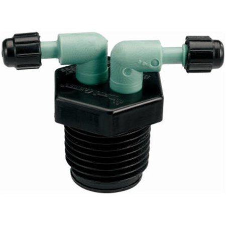 67035 0.5 in. Male Pipe Thread 2 Port Manifold