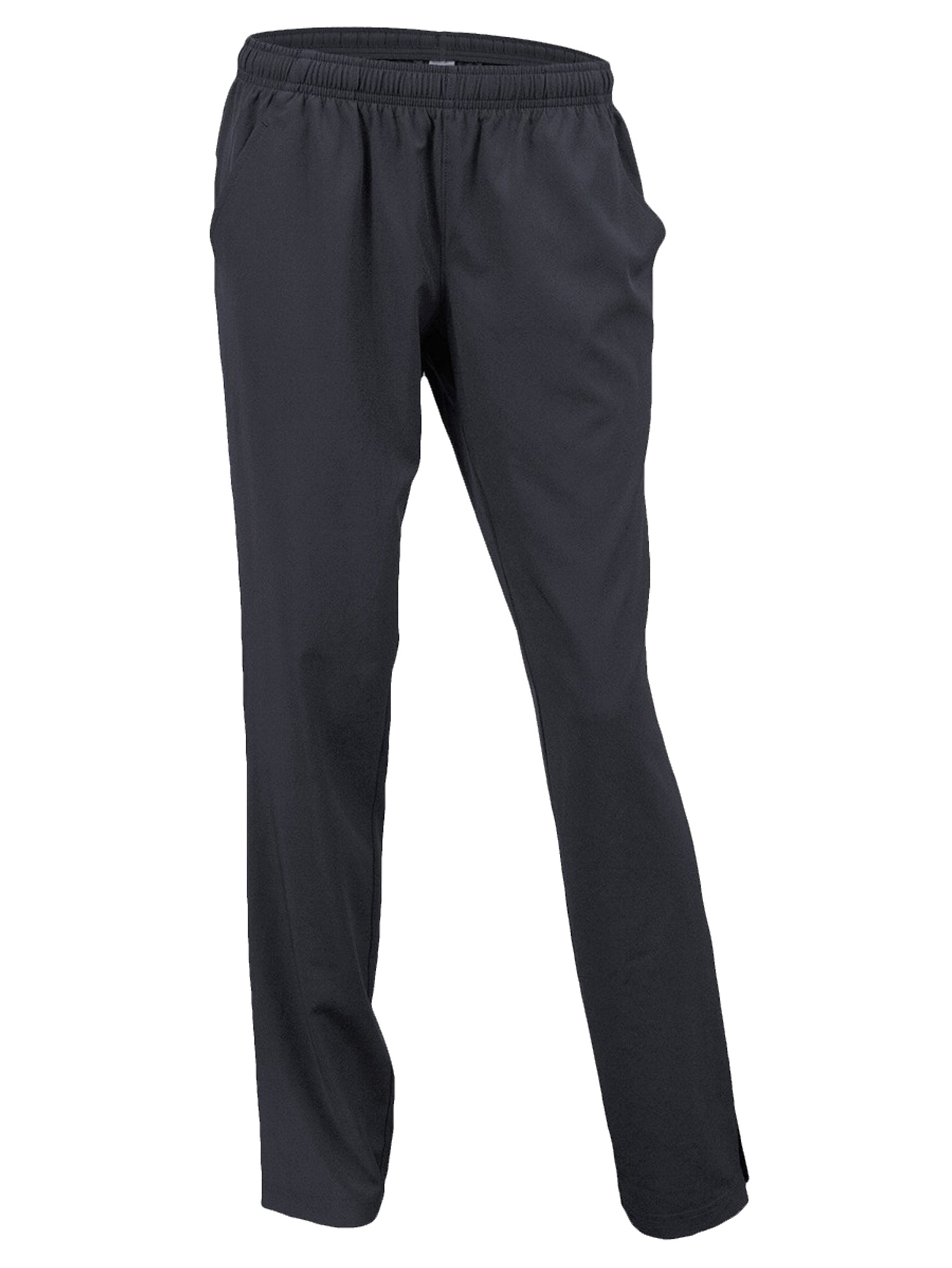 Soffe Women's Side Pockets Covered Zippers Warm Up Pant