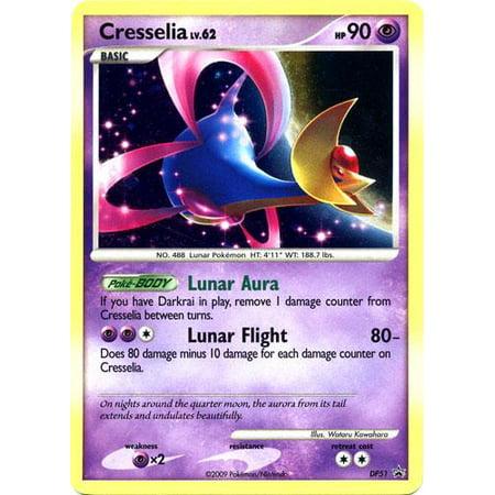 Pokemon Diamond & Pearl Promo Single Card Rare Holo Cresselia DP51