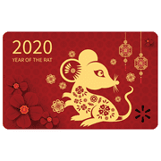 2020 Year of Rat Walmart eGift Card