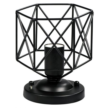 VBESTLIFE Vintage Wall Sconce Holder,E26 Vintage Style Ceiling Light Unique Geometric Shape House Hotel Cafe Decorative Lamp Holder Wall Light Holder