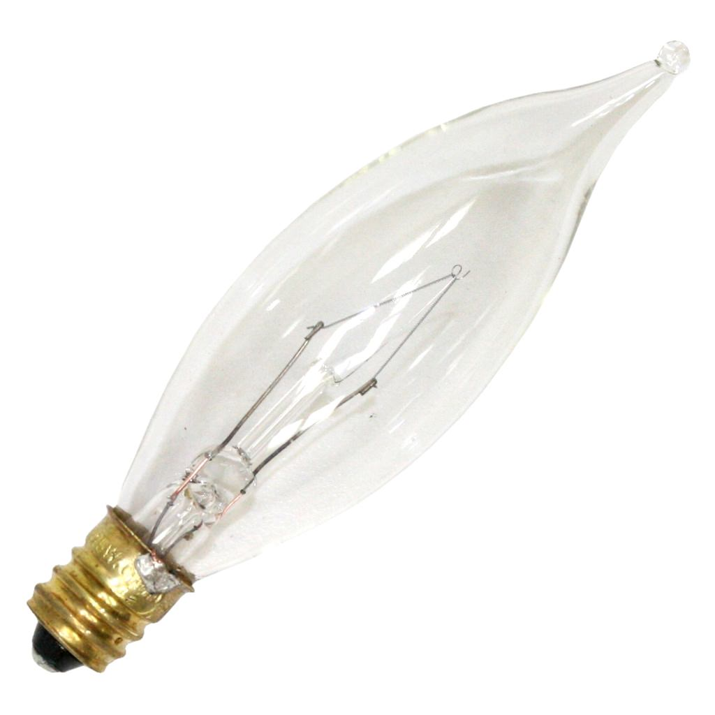 Luminance 08875 - L0104 40CA8/3 CA8 Decor Light Bulb