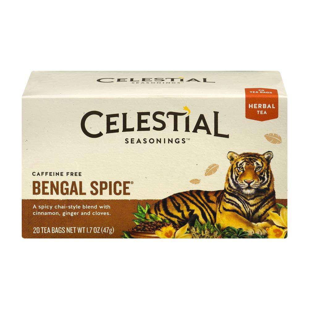 Celestial Seasonings Herbal Tea Caffeine Free Bengal Spice 20 CT by The Hain Celestial Group, Inc.