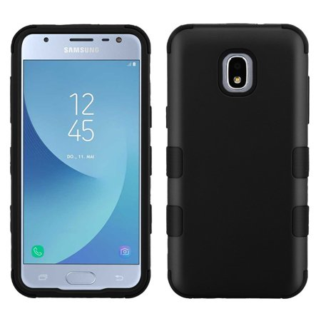 TUFF Series Case for Samsung Galaxy J3 Orbit, Heavy Duty Military Grade [MIL-STD 810G-516.6] Protection Case Cover - Black (Samsung Tablet Military Case)