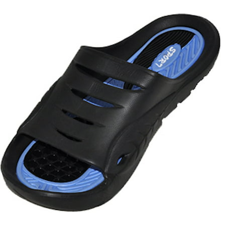 Cinco Men's Rubber  Sandal Slipper Comfortable Shower Beach Shoe Slip On Flip (Adidas Flip Flop)