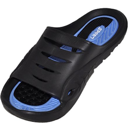 Cinco Men's Rubber  Sandal Slipper Comfortable Shower Beach Shoe Slip On Flip -