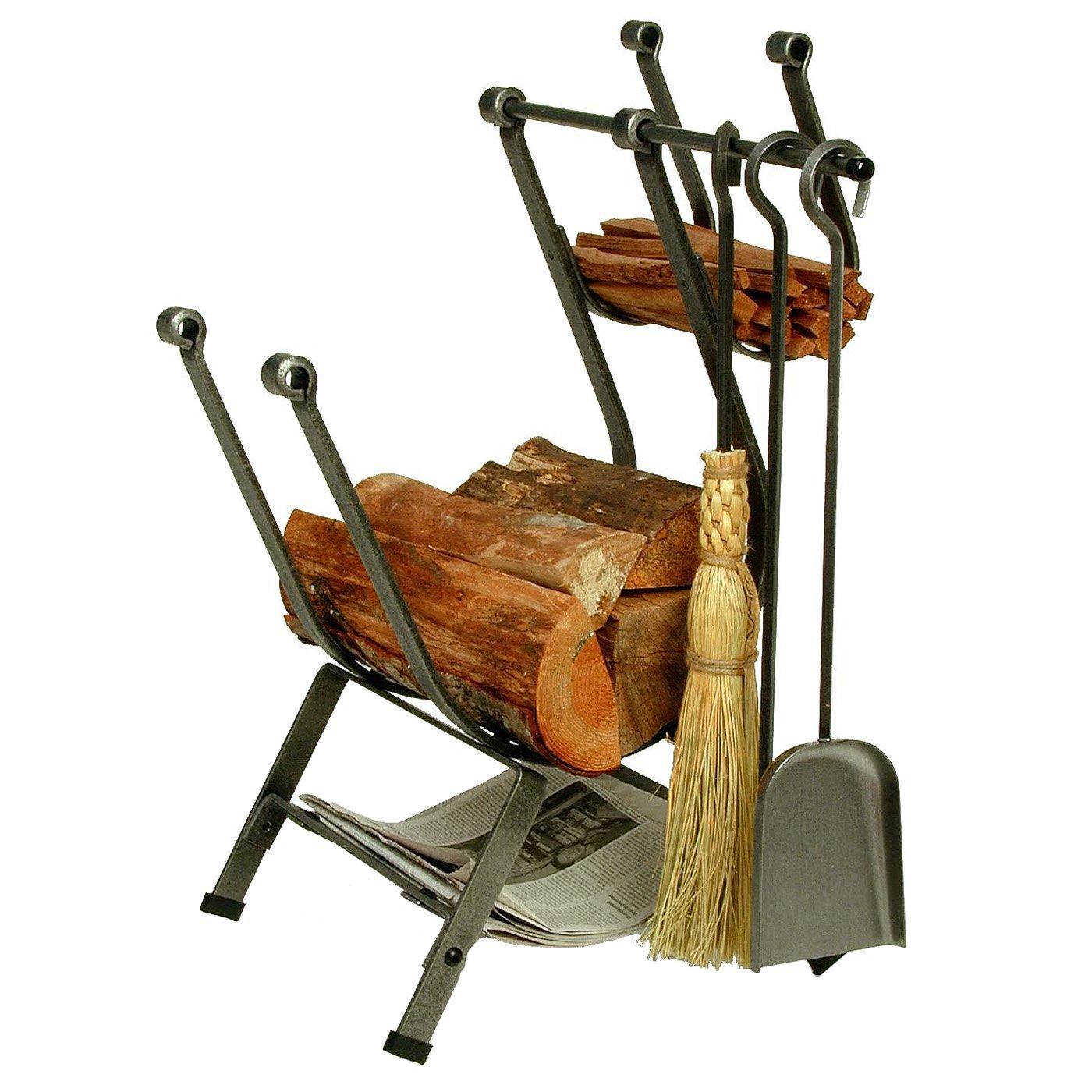 Enclume Design Front-loading Log Rack with Tools - Walmart.com