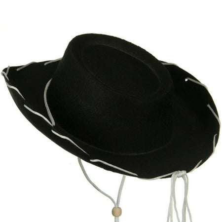 Black Felt Cowboy Child Hat Woody Toy Story Jessie Cowgirl Sheriff Costume Movie for $<!---->