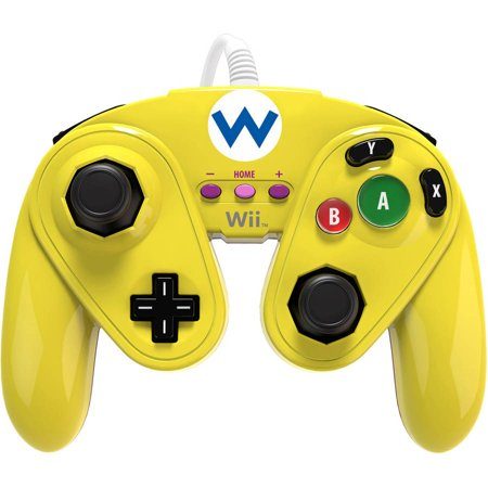 Pdp Wired Fight Pad For Wii U Wario