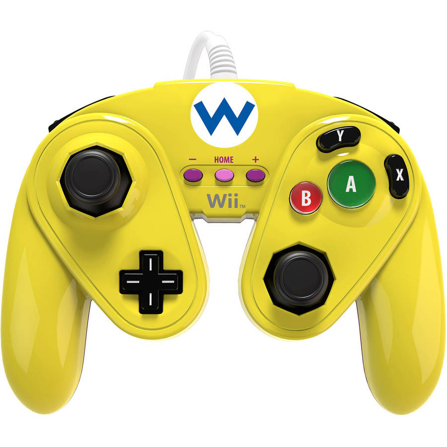 PDP Wired Fight Pad for Wii U,Wario