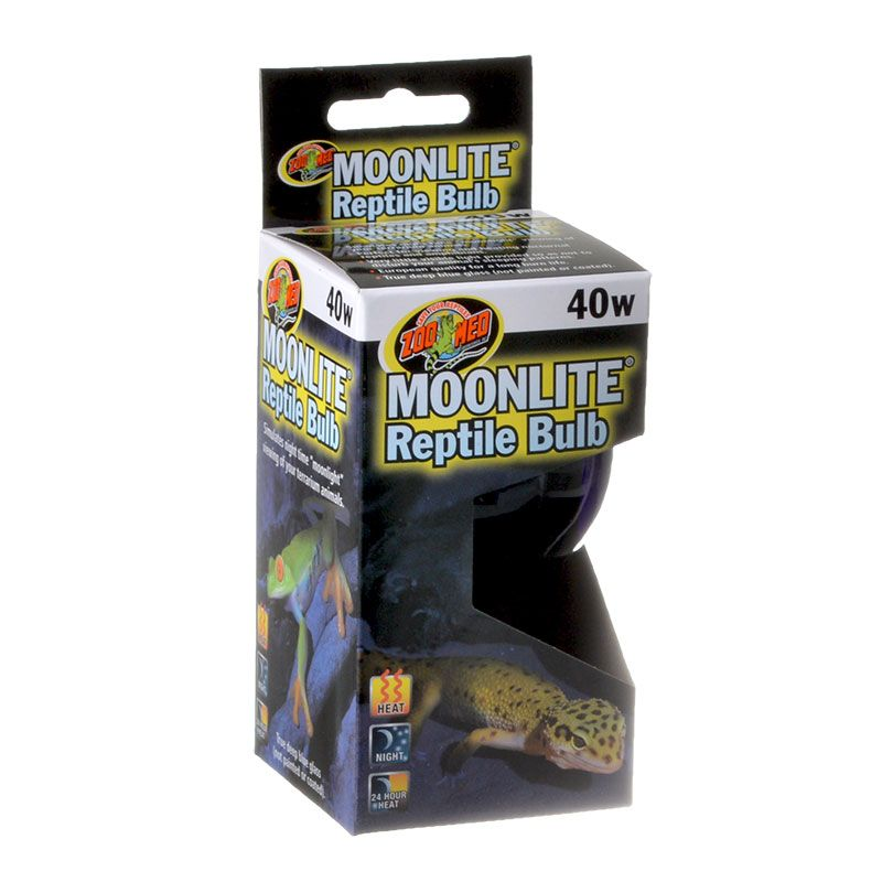 Zoo Med Moonlight Reptile Bulb 40 Watts - Pack of 4