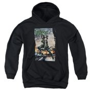 Justice League Fire And Rain Big Boys Pullover Hoodie