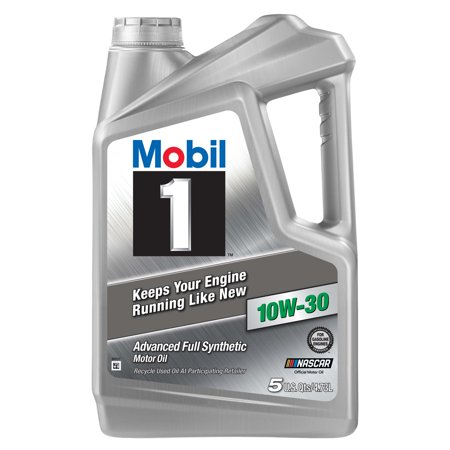 Mobil 1 10W-30 Advanced Full Synthetic Motor Oil, 5QT