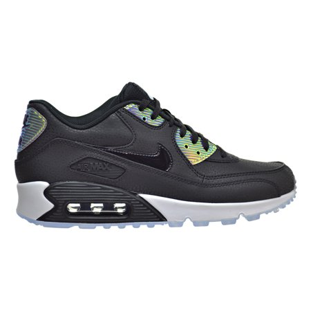 Nike Air Max 90 Premium Women's Shoes Black/Black/Pure Platinum 443817-008