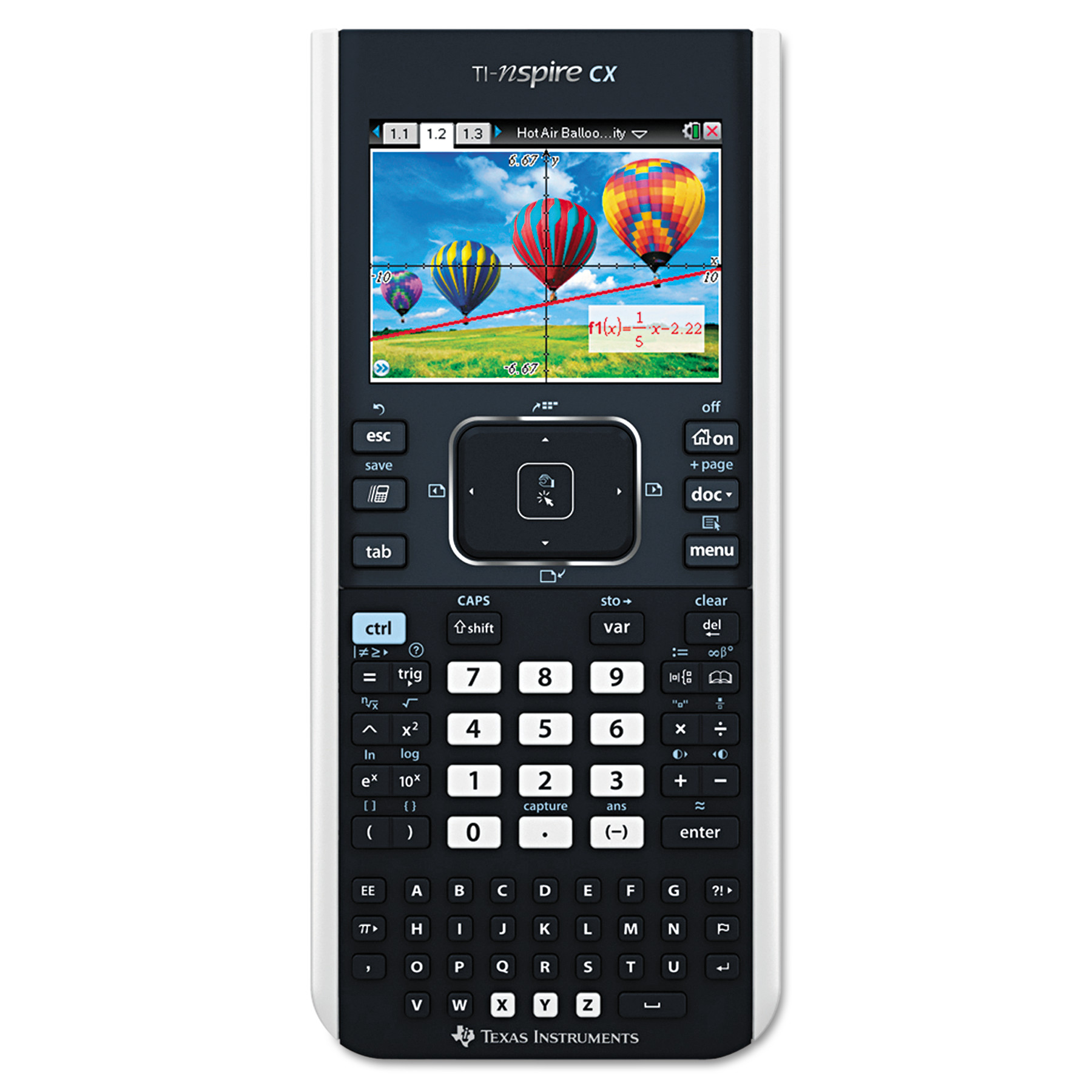 Texas Instruments TI-Nspire CX Handheld Graphing Calculator with Full-Color Display by Texas Instruments