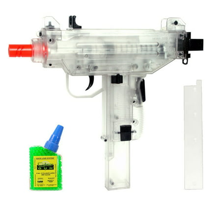 WAR INC Soft Air Uzi Spring Powered Airsoft Pistol with 500 BBs (Gas Airsoft Uzi)