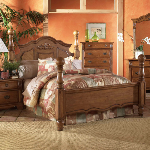 Picket House Furnishings Bella Four Poster Bed