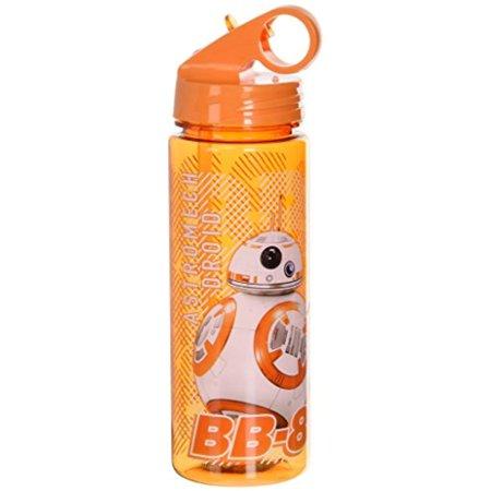 Silver Buffalo SE0764 Star Wars Episode 7 BB-8 Tritan Water Bottle, 20-Ounces (Water Bottle Star Wars)