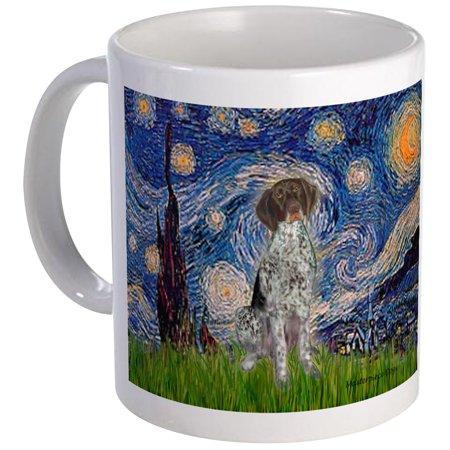 CafePress - Starry Night /German Short Mug - Unique Coffee Mug, Coffee Cup CafePress